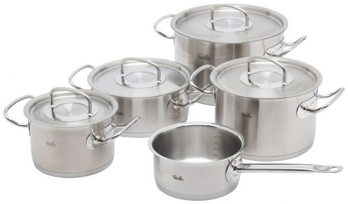 fissler original profi collection 5 delige pannenset