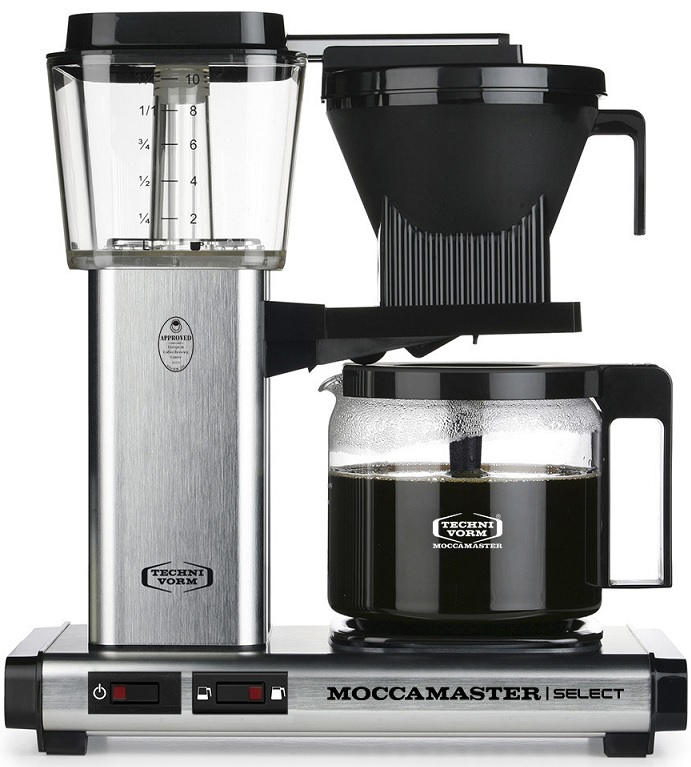 moccamaster KBG741 Select Brushed