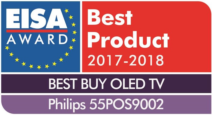 philips 55pos9002 eisa award